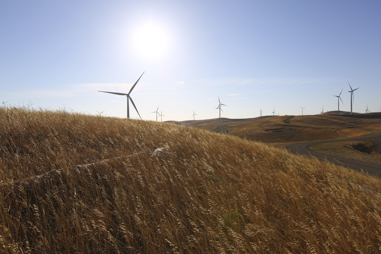 Vasco Wind Energy Center Dedication in Livermore, California on May 31, 2012