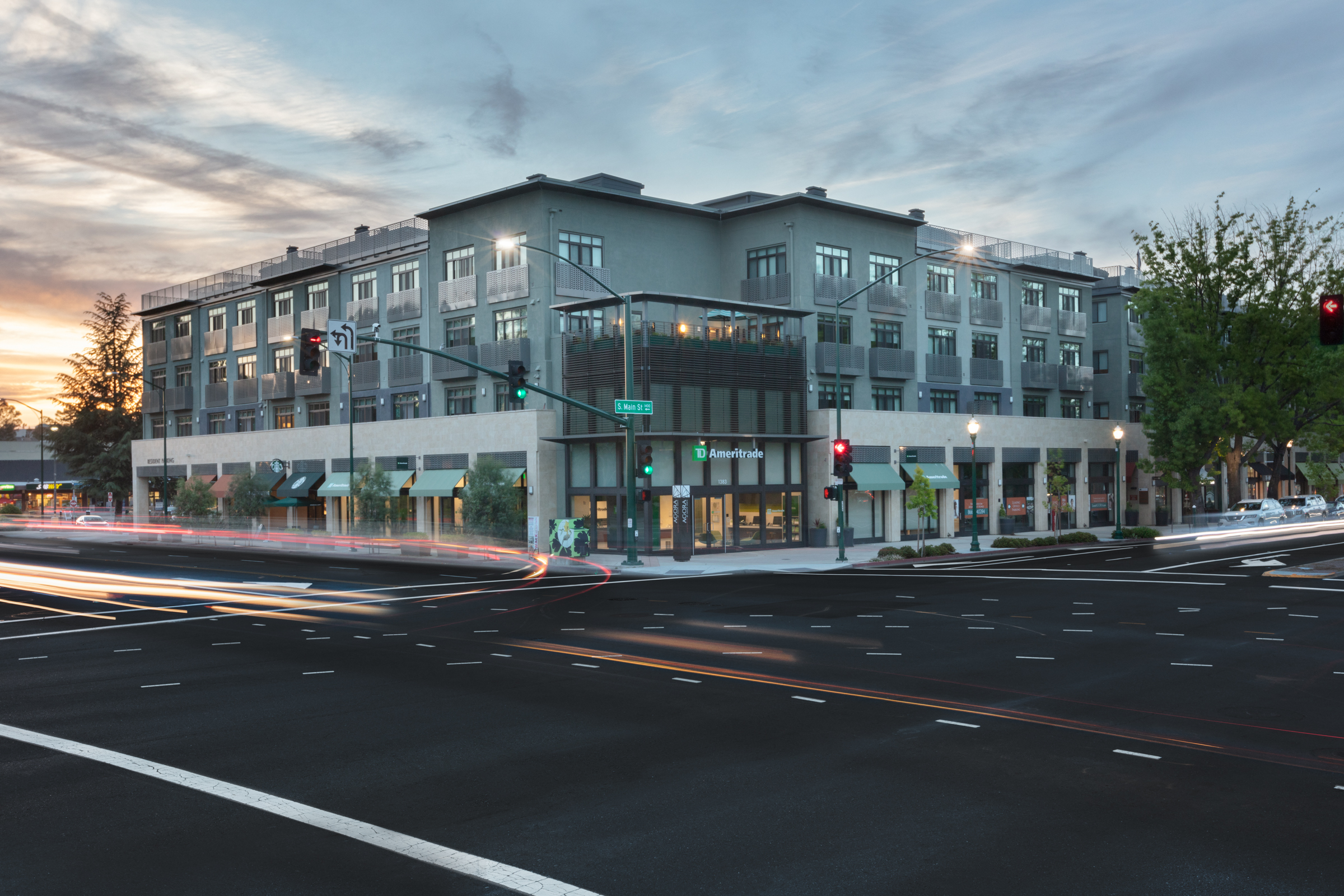 Agora Corner multi use building