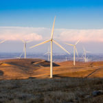 Golden Hill North Wind Energy Center in Livermore, California on September 11, 2017