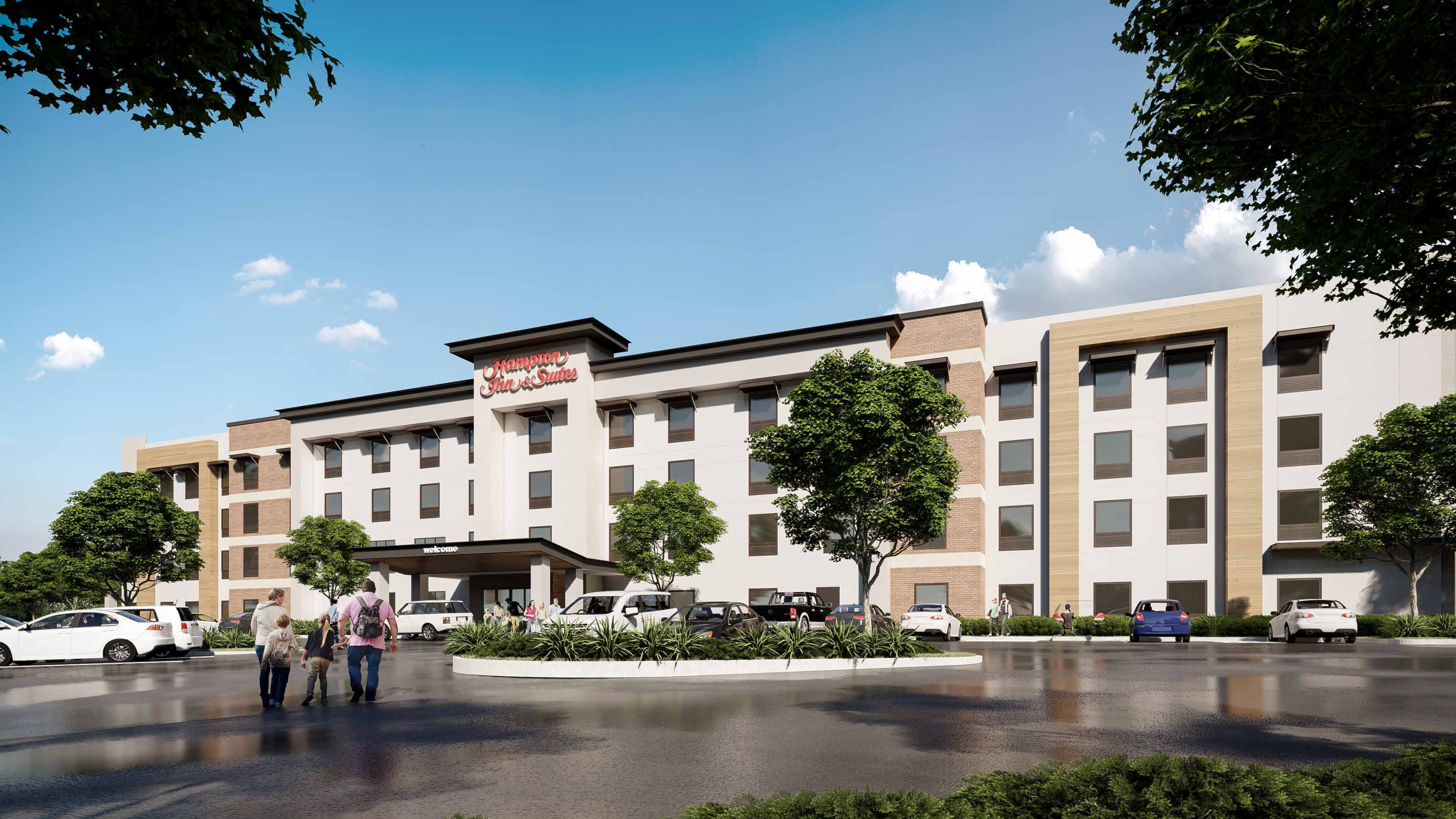 Sycamore Crossing Rendering Hotel