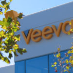 veeva sign on side of building