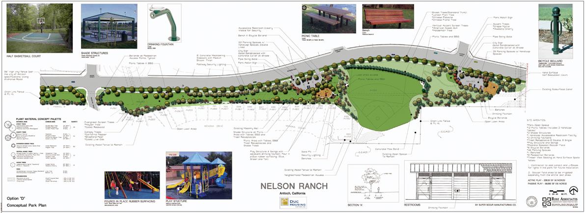 Nelson Ranch Monterra Park plan