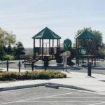 Neighborhood playground play structure