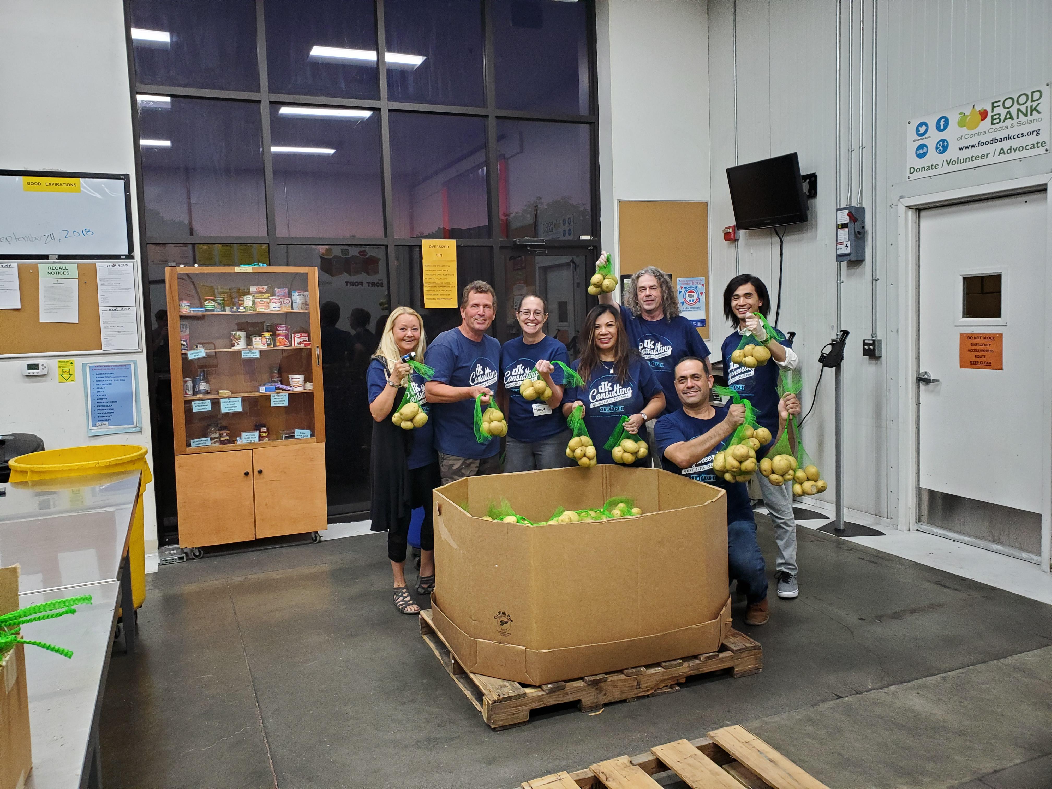 contra costa food bank volunteer opportunities